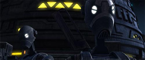 Droïde commando de série BX