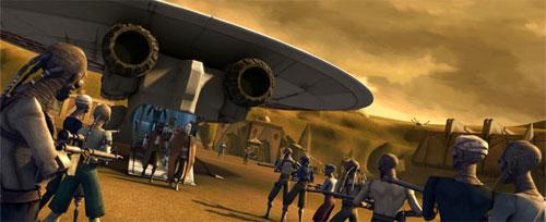 The Clone Wars S01E11 - La Capture de Dooku