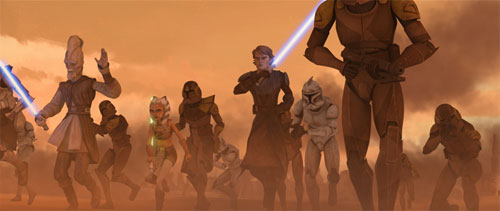 The Clone Wars S02E05 - Atterrissage mouvementé