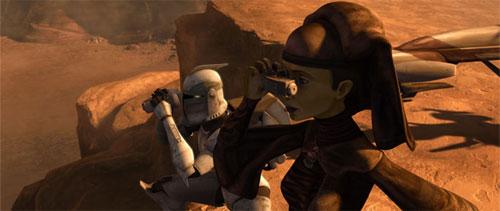 The Clone Wars S02E07 - L'héritage de la terreur