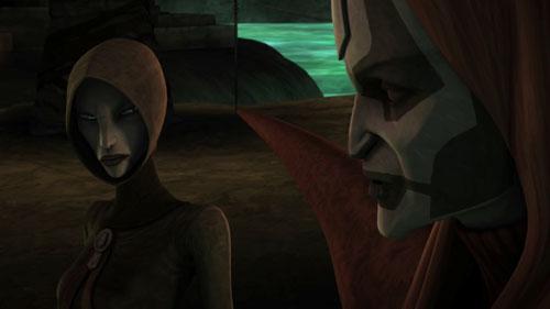 The Clone Wars S03E12 - Les Sœurs de la nuit