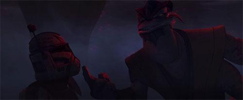 The Clone Wars S04E07 - L'Obscurité sur Umbara