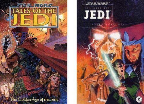 Tales of the Jedi Vol.1 : Golden Age of the Sith (L'Age d'Or des Sith)