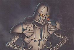 Droïde armurier de série AD