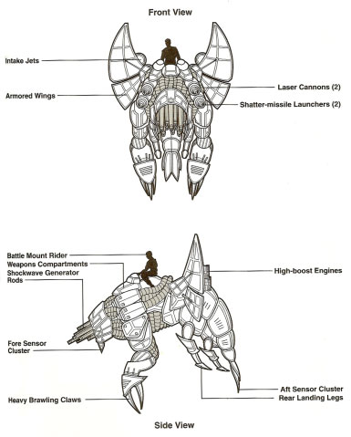 Droïde de guerre Basilisk