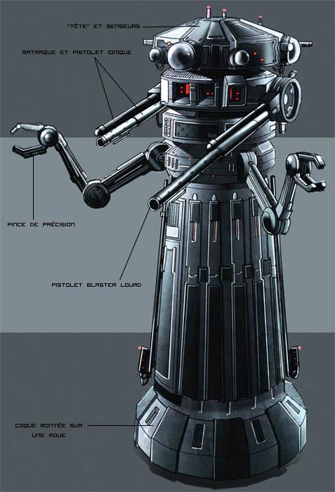 Droïde-policier HXZ-1 Immobilizer