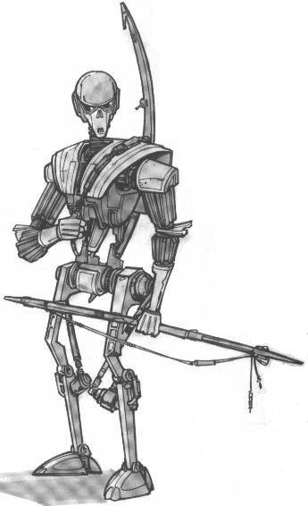 Droïde de guerre krath