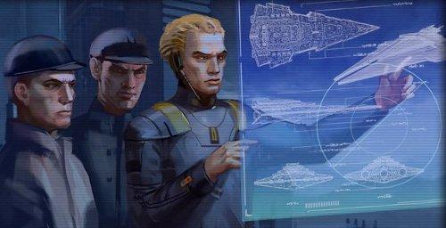 Construction de la Flotte impériale