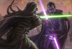 Duel sur Coruscant