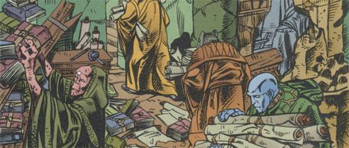 Ossus - Bibliothèque Jedi