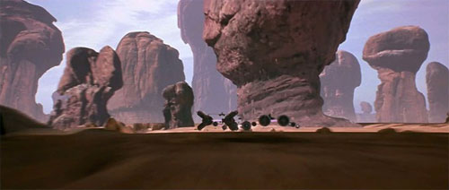Tatooine - Circuit de podracers de Mos Espa
