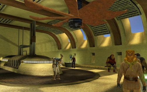 Tatooine - Comptoir de chasse d'Anchorhead