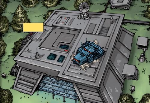 Dantooine - Base de combat impériale n°18
