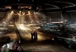 Coruscant - Hangar du Temple Jedi