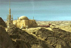 Tatooine - Hutte d'Obi-Wan Kenobi