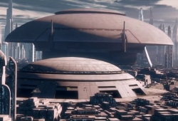 Coruscant - Grande Rotonde du Sénat