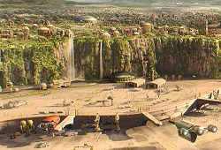 Naboo - Spatioport de Theed