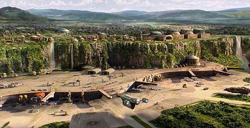 Naboo - Spatioport de Theed