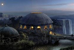 Naboo - Temple funéraire de Theed