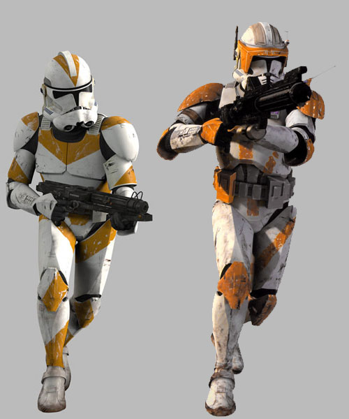 Clone Wars armée de la République Blue ARC Trooper 03#43 Concept Action Figure Comme neuf on Card
