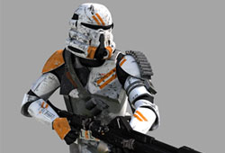 Soldat clone - phase II : Infanterie A�roport�e