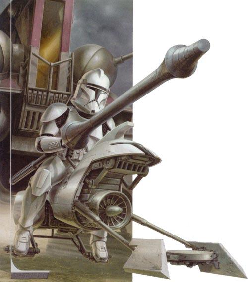 Soldat clone : Lancier