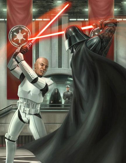 Soldat de Choc : Stormtrooper de Sheyvan