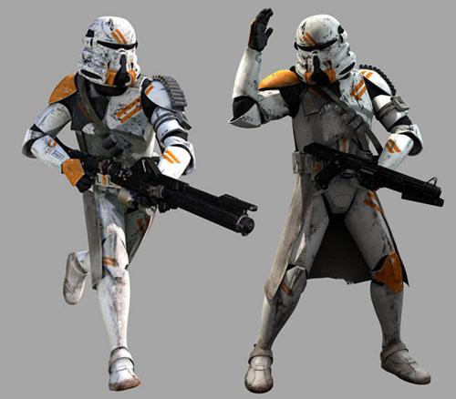 Soldat clone - phase II : Infanterie Aéroportée