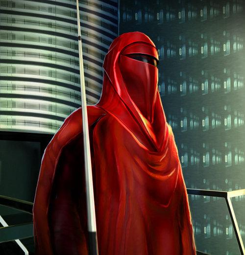 Soldat impérial - Garde royal