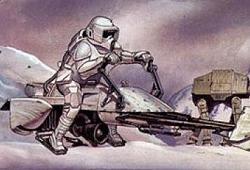 Soldat de Choc : Scout Trooper en milieu polaire