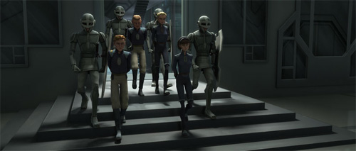 Hasbro Star Wars Tusken Raider avec enchaînés massiff Attaque des Clones NEUF