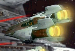 Intercepteur A-wing RZ-1