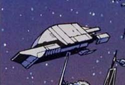 Barge spatiale W-23 StarHauler