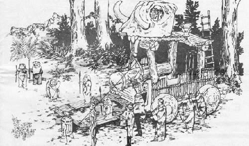 Char de bataille Ewok