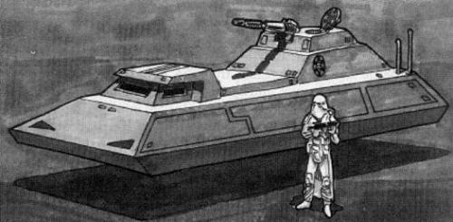 Char à répulsion de classe Impérial