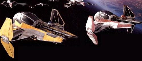 Intercepteur Jedi Actis Eta-2