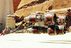 Podracer de Ben Quadinaros