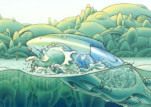 Submersible Mon Calamari