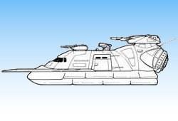 Aéroglisseur de reconnaissance Swift 5