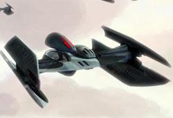 Bombardier droïde de classe Hyena