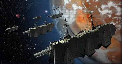 Transport de troupes Sith