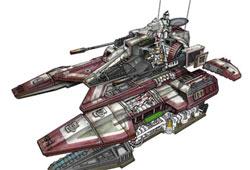 Char � r�pulsion de classe Sabre TX-130
