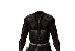 Armure de fibre de Dark Bandon