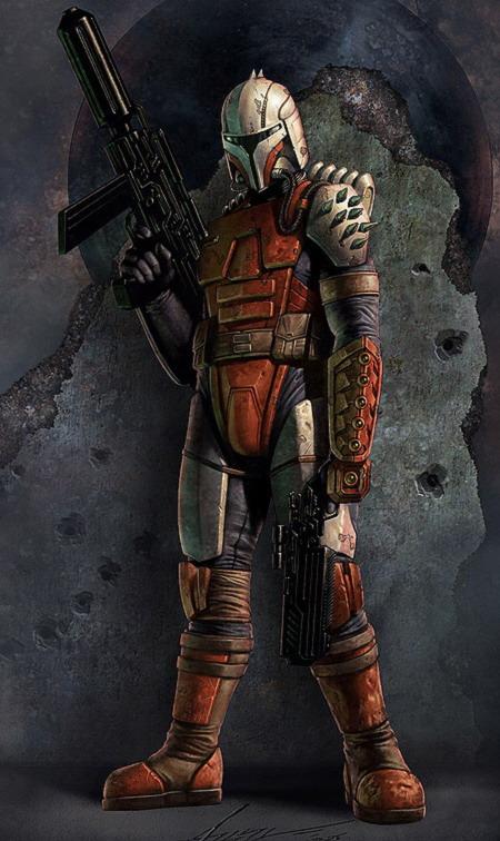 Armure mandalorienne de Rohlan Dyre