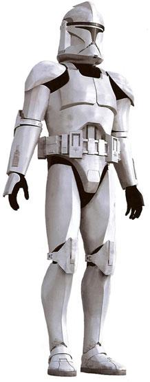 Armure clone Phase-I