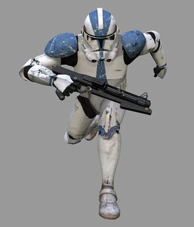 Armure clone Phase-II