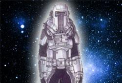 Combinaison spatiale blindée
