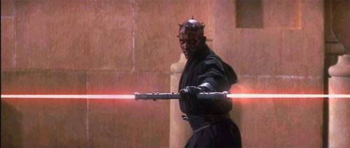 Cristaux de sabre laser
