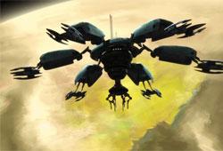 Base de déploiement de chasseurs vautours